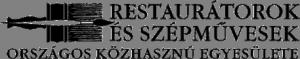 Restaurátorok és Szépművesek Országos Közhasznú Egyesülete logó